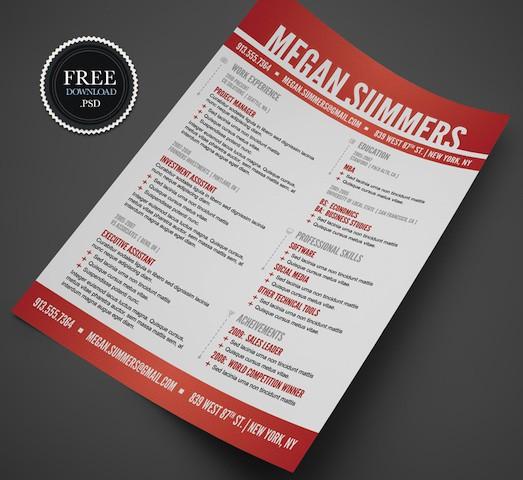 modern-swiss-style-resume-template
