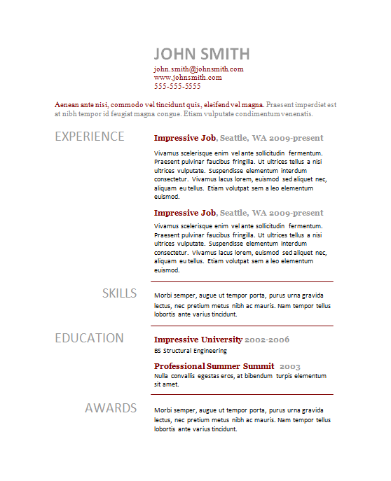 simple-page-curriculum-vitae-template-two