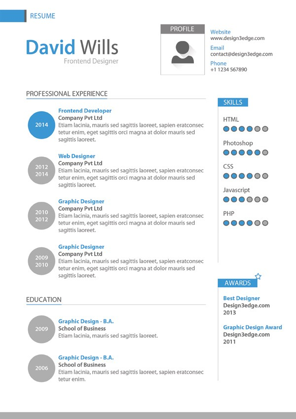 Professional-Resume-Template-Design