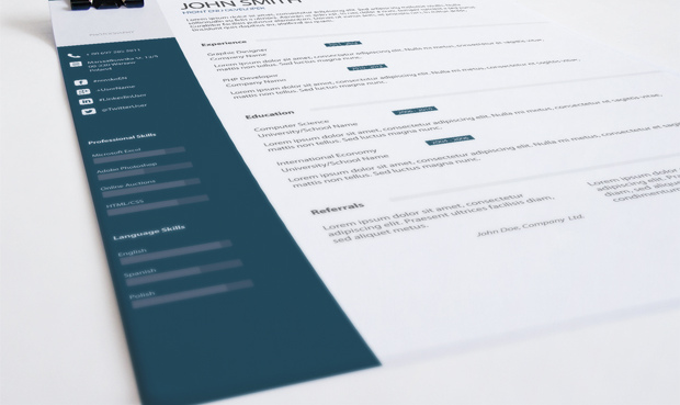 simple professional resume template example - Simple Professional Resume