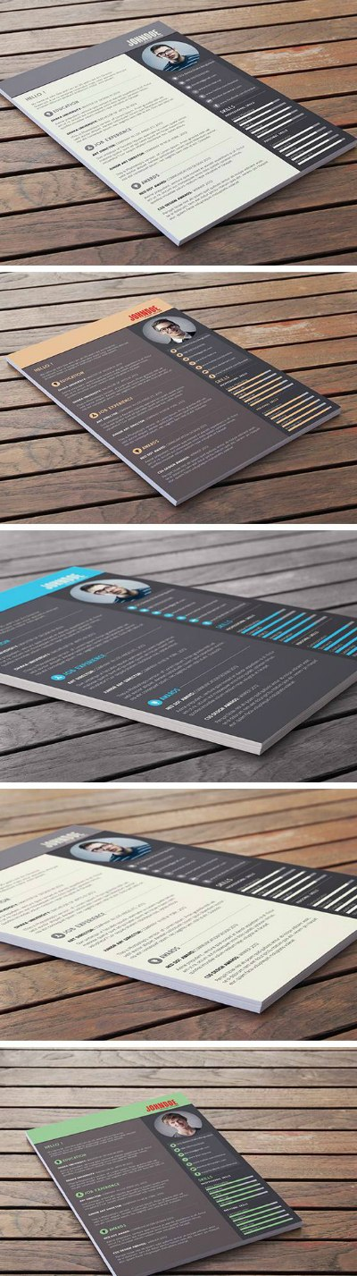 free-photoshop-resume-template